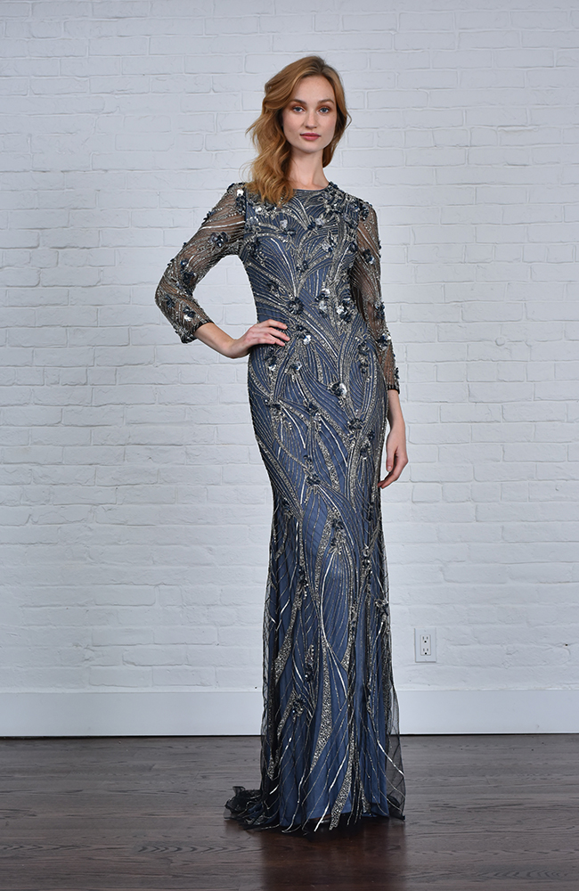 Evening Gown Dress Sequin Robe de soirée Paillettes