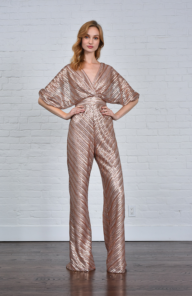 Golden Metallic Jumpsuit