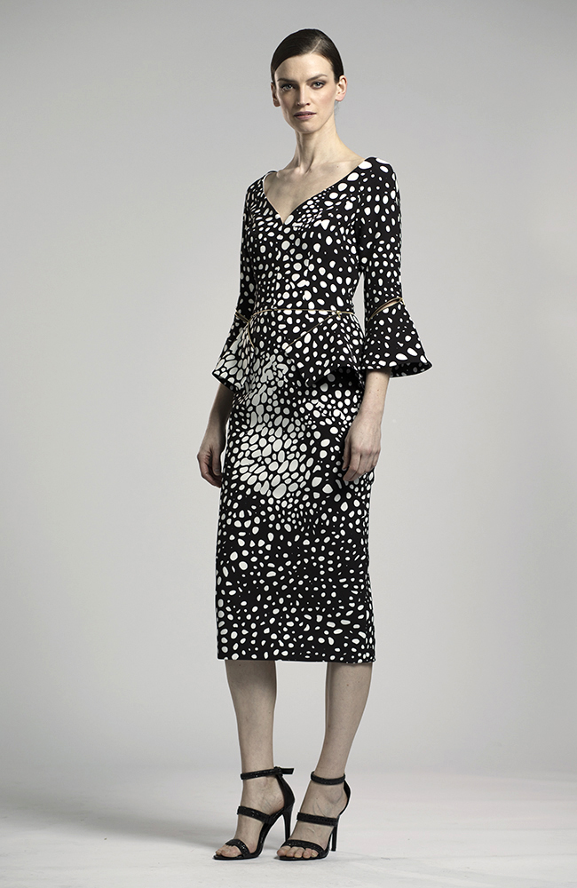 Lucian Matis Dress Polka Dots