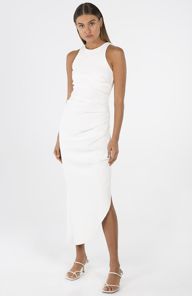 Misha Collection Robe Blanche White dress