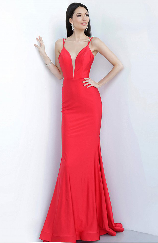 Prom Dress Red evening gown robe de bal