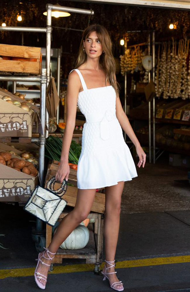 Cocktail mini_ivory_dress