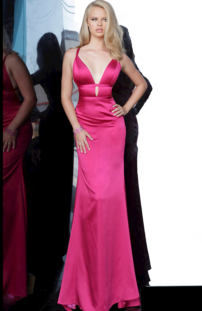 Pink Prom Dress Gown