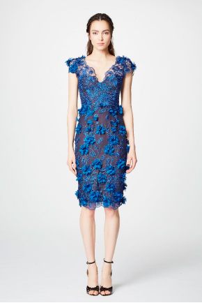 Marchesa Petal Dress -Mother of the Bride- Mère de la mariée