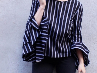 Milly Blouse Blue