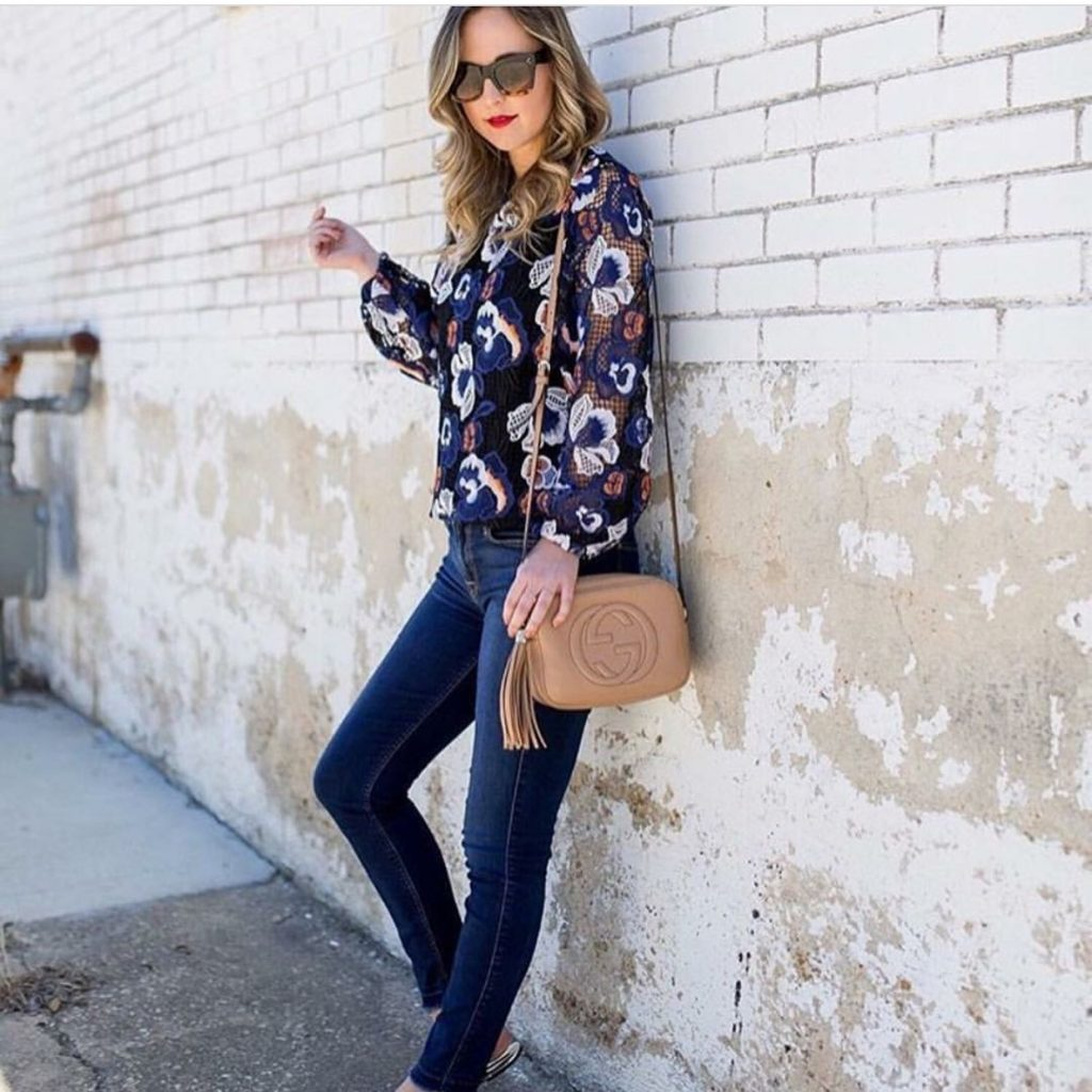 Ministry of Style Floral Lace Top